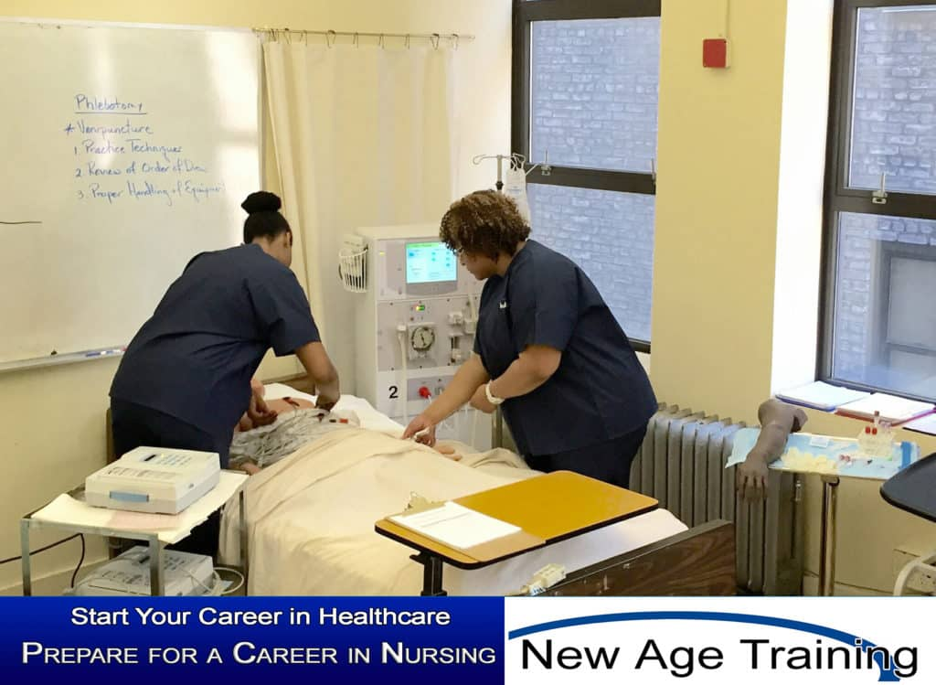 Medical Training at New Age Training