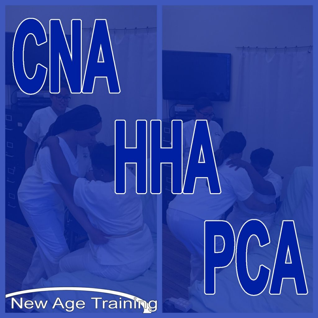 Differences Between Cna Hha Pca New Age Training